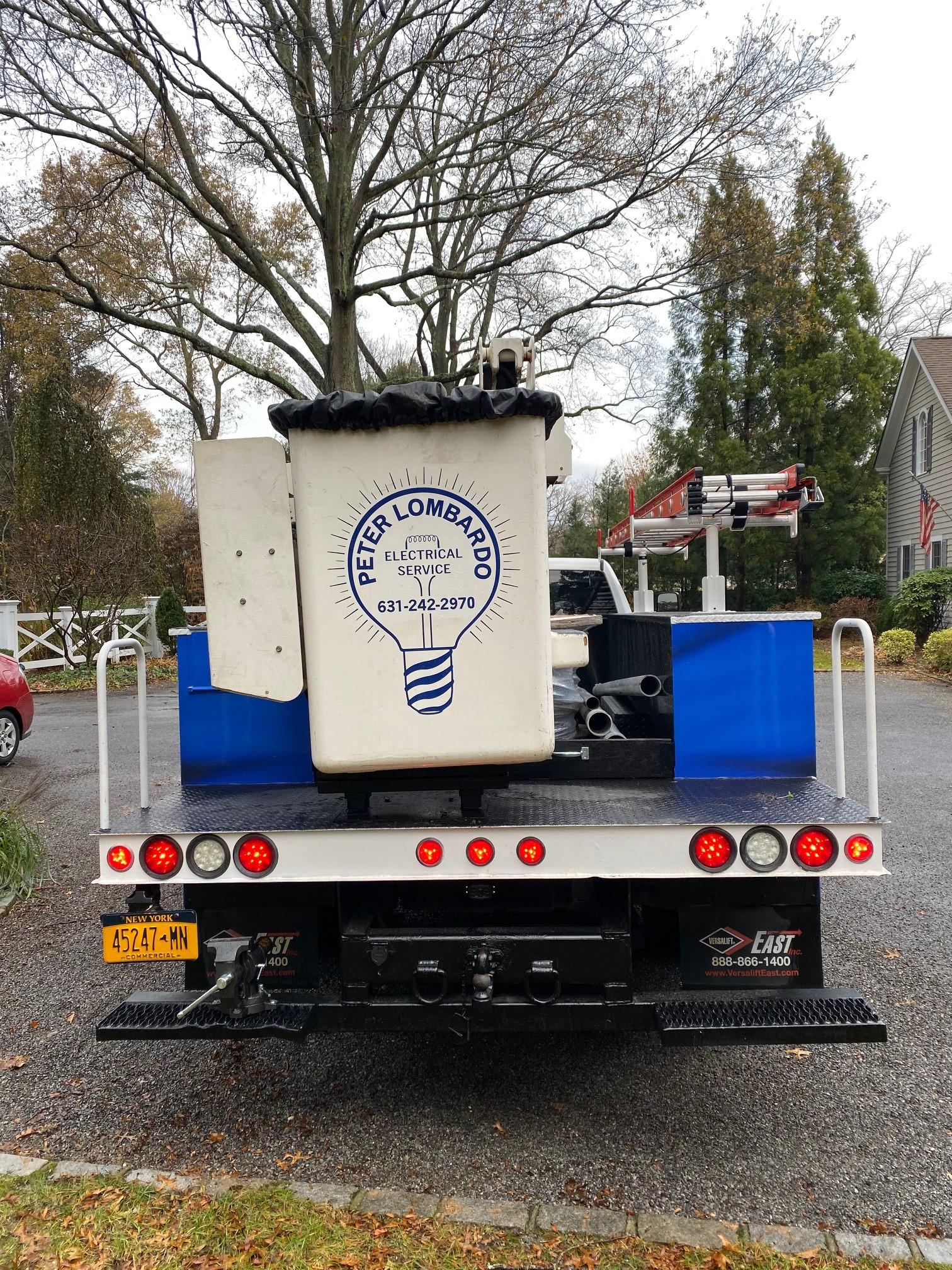 PLES Electric Boom Truck